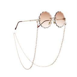Cathercing Fashion Eyeglass Chains Necklace Pearl Beaded Eyewear Retainer Reading Eyeglass Holder... | Amazon (US)