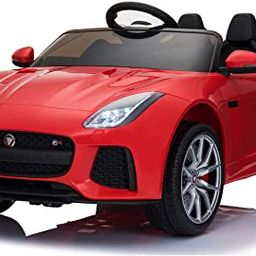 Aosom 12V Jaguar F-Type SVR Kids Battery Powered Ride On Car Double seat Double Door MP3 Music W/...   Amazon (US)