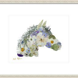 Floral Horse by Ayla Graham on Artfully Walls | Artfully Walls