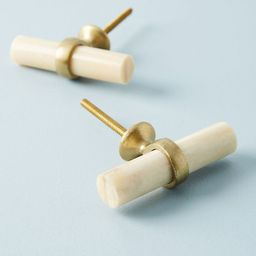 Antler Melody Toggle Knobs, Set of 2 | Anthropologie (US)
