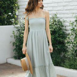 Roxanne Smocked Cami Dress | Morning Lavender