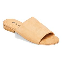 Chatties Women's Sandals Tan - Tan Slide - Women | Zulily