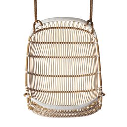 Double Hanging Rattan Chair   Serena and Lily
