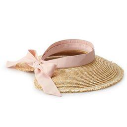 Women's LC Lauren Conrad Straw Visor Hat | Kohl's