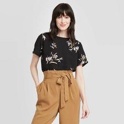 Women's Short Sleeve Round Neck T-Shirt - A New Day™ | Target