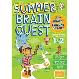 Summer Brain Quest : Between Grades 1 & 2 (Paperback)   Target