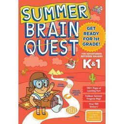 Summer Brain Quest : Between Grades K & 1 (Paperback)   Target