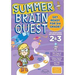 Summer Brain Quest : Between Grades 2 & 3 (Paperback)   Target
