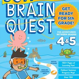 Summer Brain Quest: Between Grades 4 & 5 - Paperback   Walmart (US)