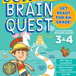 Summer Brain Quest: Between Grades 3 & 4 - Paperback   Walmart (US)