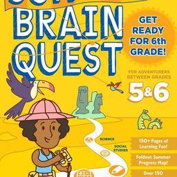 Summer Brain Quest: Between Grades 5 & 6 - Paperback   Walmart (US)