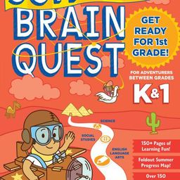 Summer Brain Quest: Between Grades K & 1 | Walmart (US)