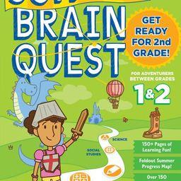 Summer Brain Quest: Between Grades 1 & 2 - Paperback   Walmart (US)