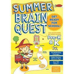 Summer Brain Quest Pre K & K | Target