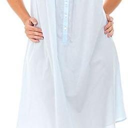 Alexander Del Rossa Womens 100% Cotton Lawn Sleepwear, Nighgown or Pj Set | Amazon (US)