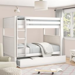 Amani Full Over Full Bunk Bed with Trundle | Wayfair North America