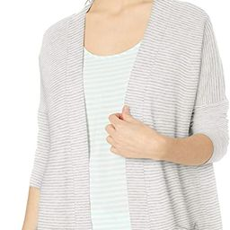 Amazon Essentials Women's Relaxed Fit Lightweight Lounge Terry Open-Front Cardigan | Amazon (US)