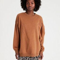 AE Fleece Oversized Vintage Crew Neck Sweatshirt   American Eagle Outfitters (US & CA)