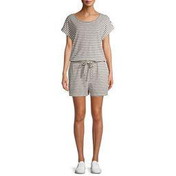 Time and Tru Women's Knit Romper | Walmart (US)