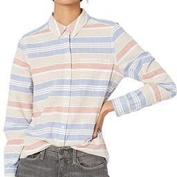 Amazon Brand - Goodthreads Women's Washed Cotton Boyfriend Tunic | Amazon (US)