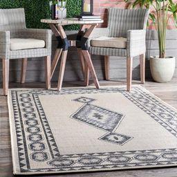 nuLOOM Annika Aztec Iris Indoor/Outdoor Area Rug or Runner | Walmart (US)