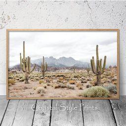 Desert Wall Art, Desert Decor,Desert Photography,Cactus Wall Art,Southwestern Decor,Landscape Pri...   Etsy (US)