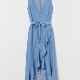 Lyocell wrap dress   H&M (UK, IE, MY, IN, SG, PH, TW, HK)