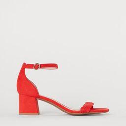 Sandals   H&M (UK, IE, MY, IN, SG, PH, TW, HK)