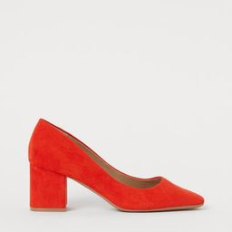 Block-heeled court shoes   H&M (UK, IE, MY, IN, SG, PH, TW, HK)