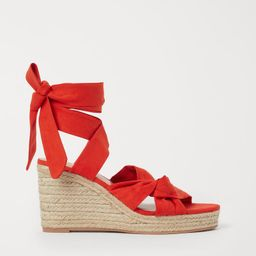 Wedge-heeled sandals   H&M (UK, IE, MY, IN, SG, PH, TW, HK)