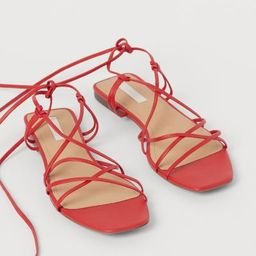 Leather sandals   H&M (UK, IE, MY, IN, SG, PH, TW, HK)