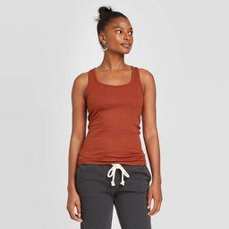 Women's Slim Fit Rib Racerback Tank Top - Universal Thread™ | Target