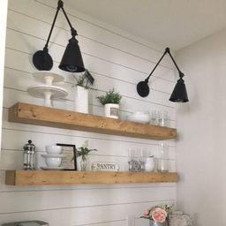 Floating Shelf, Farmhouse Decor, Rustic Shelf,  Ledge Shelf, Open Shelving, Floating Shelves, Nur...   Etsy (US)