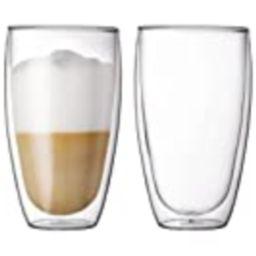 Bodum Pavina Glass, Double-Wall Insulate Glass, Clear, 15 Ounces Each (Set of 2)   Amazon (US)