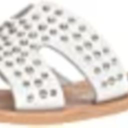 STEVEN by Steve Madden Women's Greece-S Sandal, White Leather, 10 M US | Amazon (US)