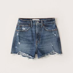 A&F Vintage Stretch Denim | Online Exclusive        Ultra High Rise Mom Shorts ... | Abercrombie & Fitch (US)