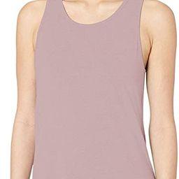 Amazon Brand - Core 10 Women's (XS-3X) Soft Pima Cotton Stretch Open Back Yoga Sleeveless Tank | Amazon (US)