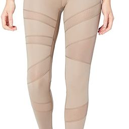 Amazon Brand - Core 10 Women's (XS-3X) 'Icon Series' The Warrior Mesh High Waist Yoga Legging -28... | Amazon (US)