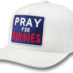 Pray for Birdies Snapback Hat - O/S - White   Amazon (US)