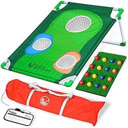 GoSports BattleChip Backyard Golf Cornhole Game   Fun New Golf Game for All Ages & Abilities   Amazon (US)