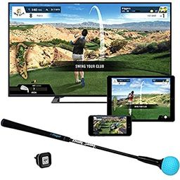 Phigolf Mobile and Home Smart Golf Game Simulator with Swing Stick - WGT Edition 2019   Amazon (US)