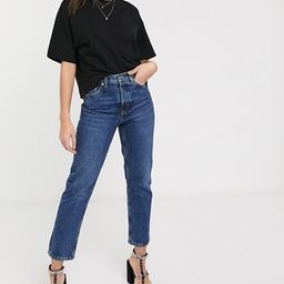 Topshop Editor straight leg jeans in bright mid wash | ASOS (Global)