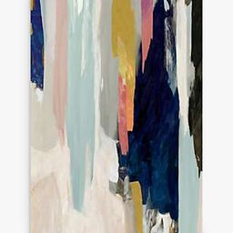 Sombre - Abstract Canvas Print, 100 x 70cm, Blue/Multi | John Lewis UK