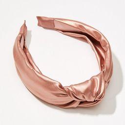 Shimmer Top Knot Headband   LOFT