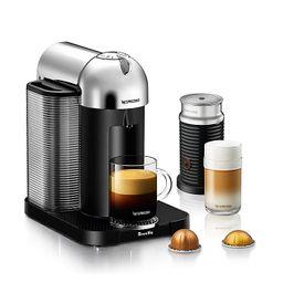 Nespresso® by Breville® VertuoLine Coffee and Espresso Maker Bundle in Chrome | Bed Bath & Beyond