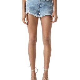 AGOLDE                                                        Parker Vintage Cutoff Denim Shorts ...   Bloomingdale's (US)