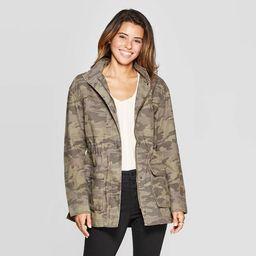 Women's Camo Print Utility Anorak Jacket - Universal Thread™ Olive | Target