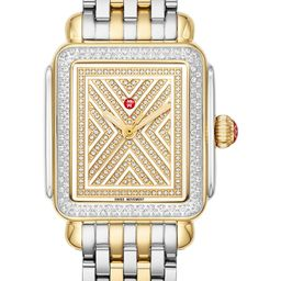 Art of Deco Diamond Watch Head & Bracelet, 33mm x 35mm | Nordstrom
