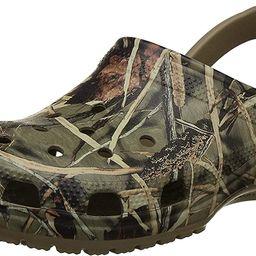 Crocs Men's and Women's Classic Realtree Clog    Comfort Slip On Camo Casual Shoe   Lightweight   Amazon (US)