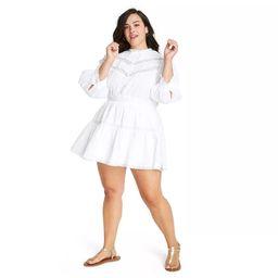 Women's Talulah Pintuck Yoke Dress - LoveShackFancy for Target (Regular & Plus) White | Target